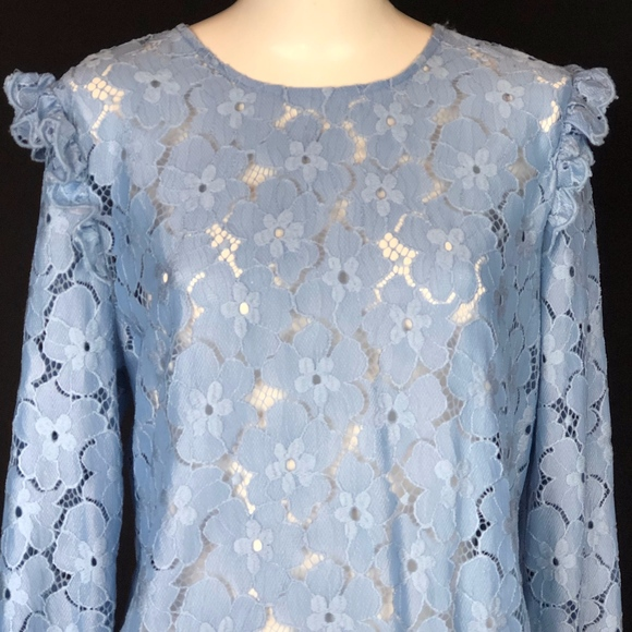 a23b51ddc67413 Divided by H M Blue Lace Blouse. NWT. Divided. M 5ca051c18d653d67e0567bc2.  M 5ca051c1aa7ed373bae0c371. M 5ca051c2fe19c77157a76065